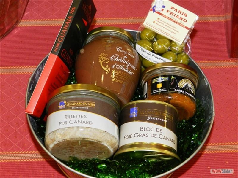Paniers Cadeaux Suisse : Paniers garnis